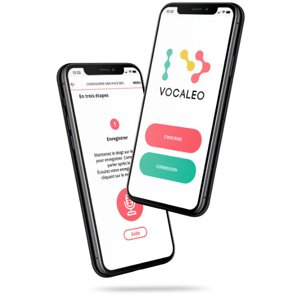 visuel application vocaleo